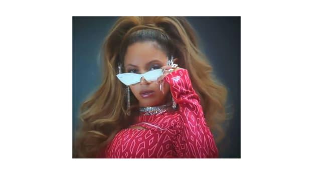 "Beyoncé models ""Icy Park"" Adidas x Icy Park"