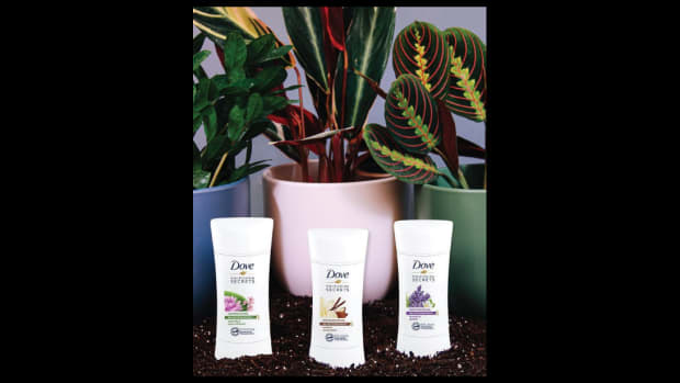 Grounded x Dove Nourishing Secrets Self-Care Plant collection