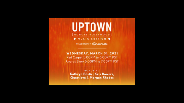 LEXUS UPTOWN HONORS HOLLYWOOD Invitation