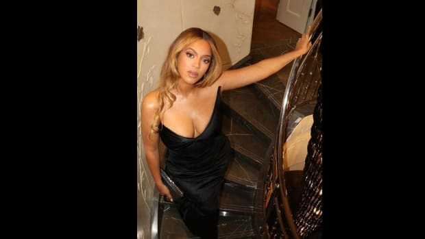 Beyoncé at The Harder They Fall premiere