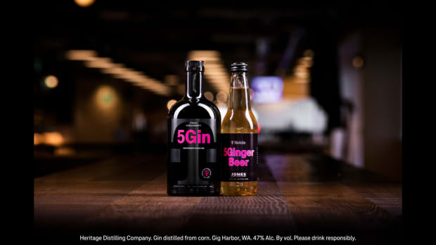 T-Mobile Ultra Capacity 5Gin and Extended Range 5Ginger Beer