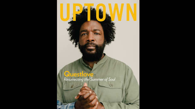 Questlove's covers the UPTOWN Summer 2021 Issue