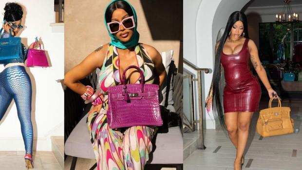 Cardi B Hermès bags