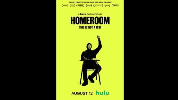 HOMEROOM documentary poster