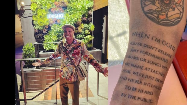 Anderson .Paak new tattoo