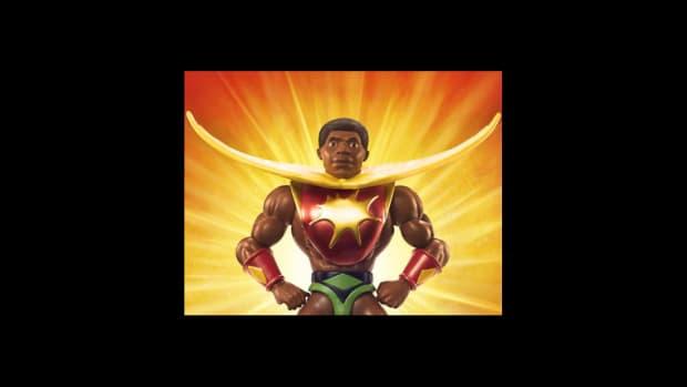 Masters Of The Universe Origins Sun-Man Action Figure