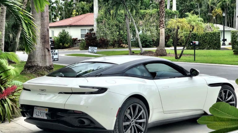 Finding Solace in the 2019 Aston Martin DB11 V8 Coupe