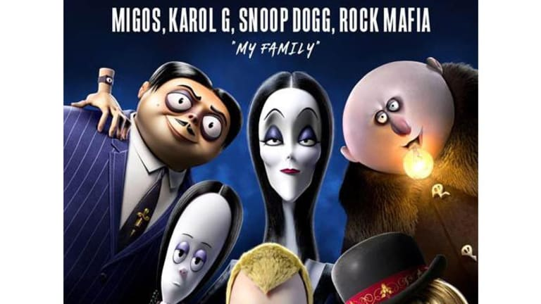 Weekday Distraction: Snoop Dogg & Migos Rap 'My Family' from 'The Addams Family'