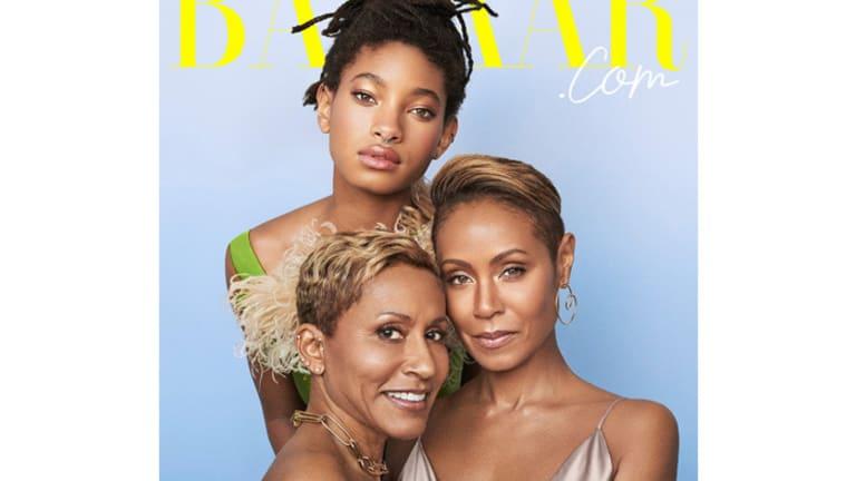 Quick Pics: Jada, Willow & Adrienne Cover 'Harper's Bazaar' Digital [+VIDEO]