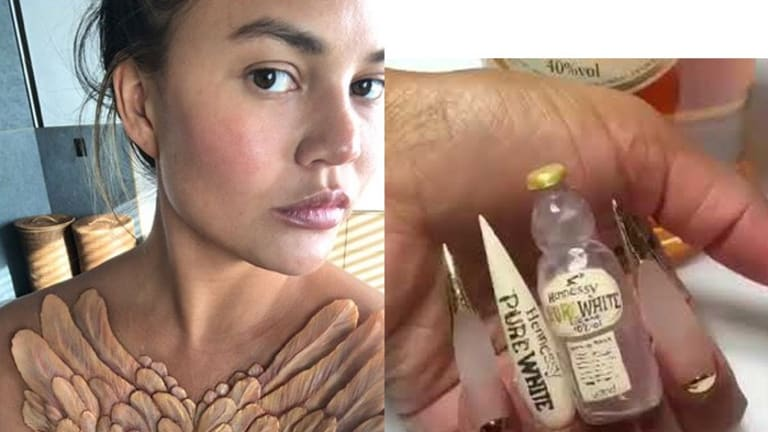 Alien Implants and Hennessy Bottle Nails: Beauty Trends No One Wanted