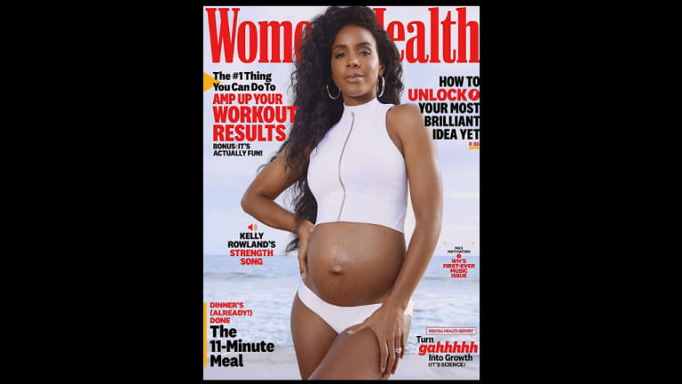 Heard on the Street: Kelly Rowland Reveals Pregnancy on 'Women's Health' Cover