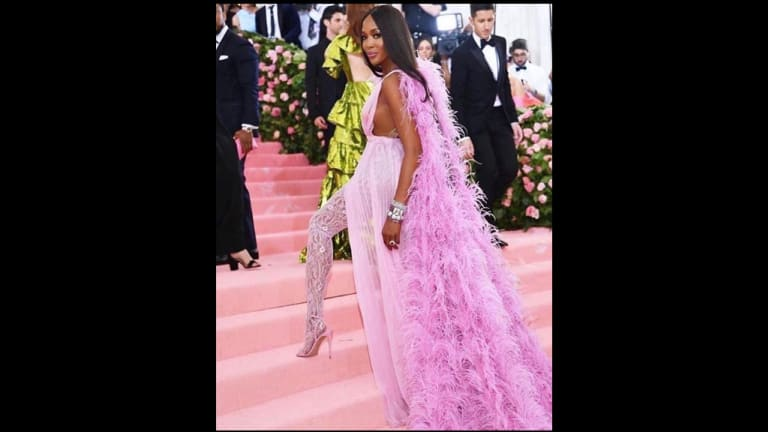 Weekday Distraction: Naomi Campbell Reminisces About the 2019 Met Gala [VIDEO]