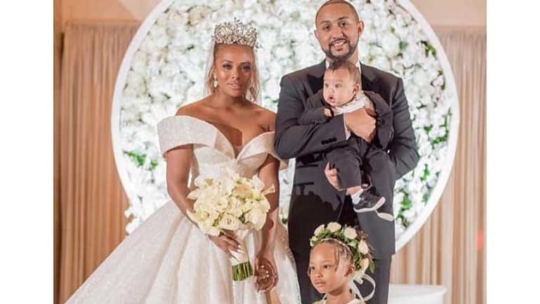 Eva Marcille and Michael Sterling Are Expecting Baby No. 3