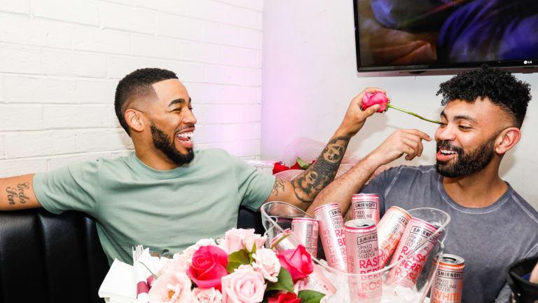 Quick Pics: Mike Johnson Surprises 'Bachelor' Fans with Smirnoff Rosé