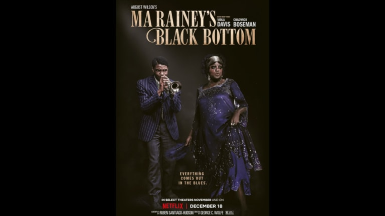 First Look: Viola Davis & Chadwick Boseman in 'Ma Rainey's Black Bottom'