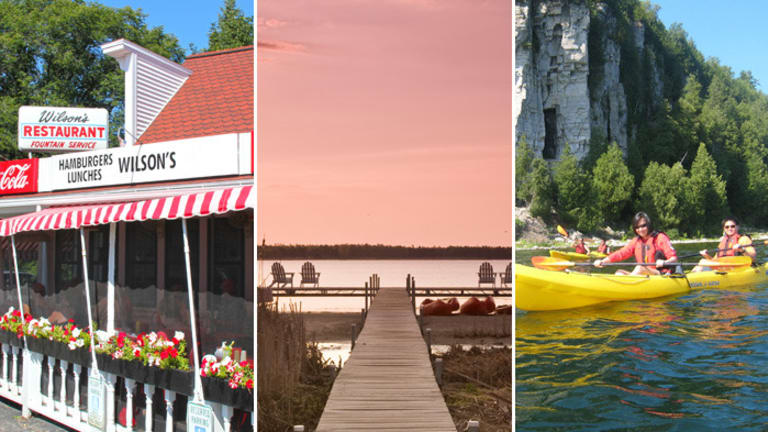 Pack On the Pounds and Burn Them Right Back Off in Door County, Wisconsin