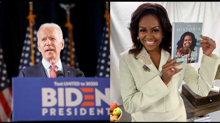 Heard on the Street: Would Joe Biden Choose Michelle Obama for Running Mate?