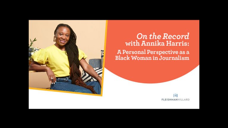 'UPTOWN' Editor Annika Harris Shares Perspective as a Black Woman in Journalism
