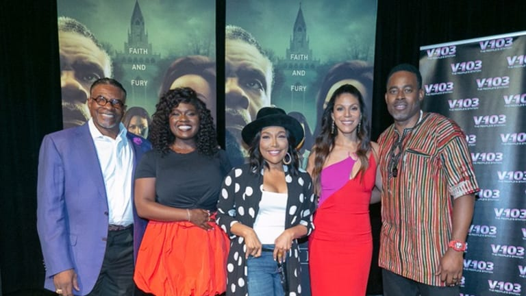 Quick Pics: 'Greenleaf' Cast Watches Season 3 Premiere in Atlanta with Fans