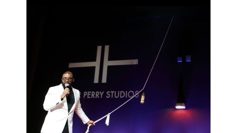 Tyler Perry Talks New Eponymous Studios, His Son Aman, Oprah, and More