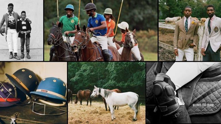 Polo Ralph Lauren Taps Black Equestrians for Campaign