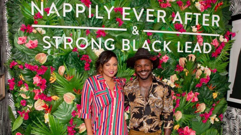 Quick Pics: Larry Sims & Tahira J. Wright Fête 'Nappily Ever After' in Atlanta