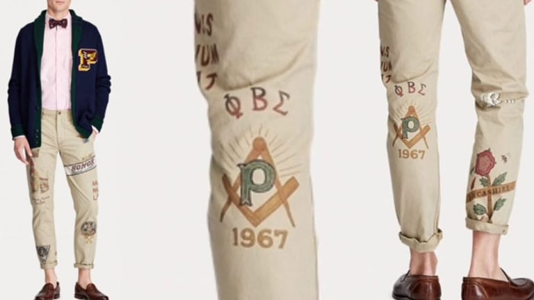 Polo Ralph Lauren Appropriates Phi Beta Sigma Symbols for $335 Chinos