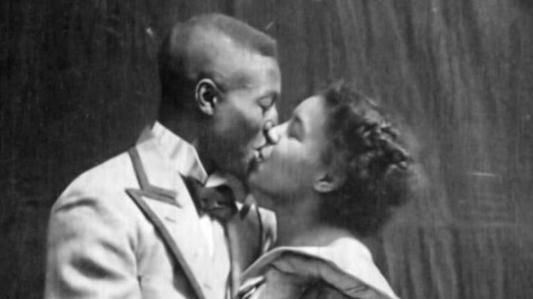 'Something Good — Negro Kiss': Earliest Black Movie Kiss Rescued From Obscurity