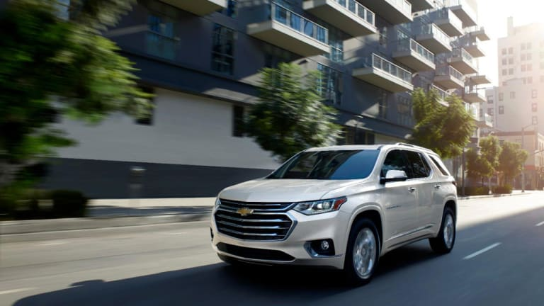 Your Family Outings, Especially with a Toddler, Deserve a Chevrolet Traverse