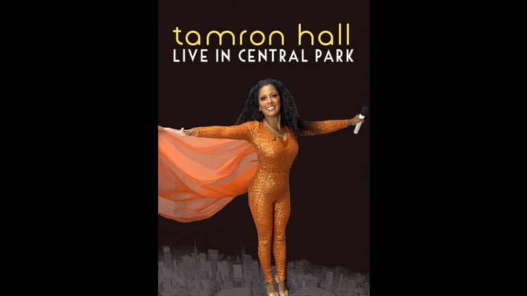 Quick Pics: Tamron Hall Dresses as Diana Ross for Halloween Special [+ VIDEO]