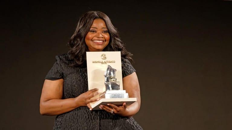 SocietEye: Octavia Spencer Receives Taormina Arte Award for Apple TV+ Series