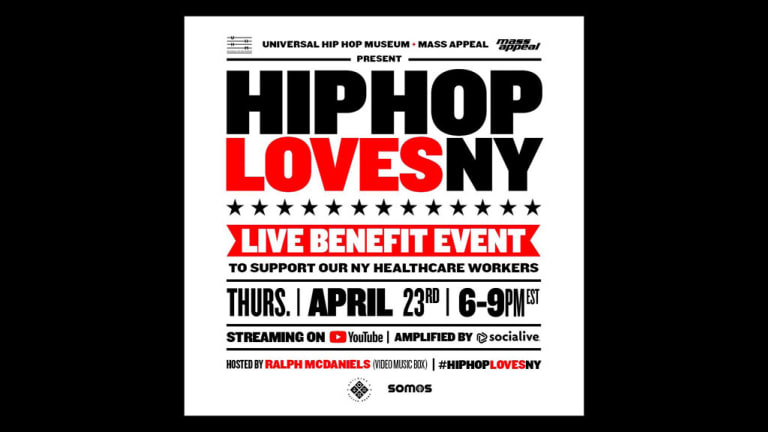 Hip Hop Loves NY Live-Stream Concert Will Benefit Healthcare Workers