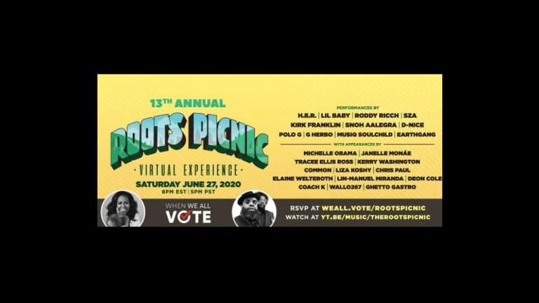 Michelle Obama is Co-Hosting The Roots Picnic to Encourage Voter Registration