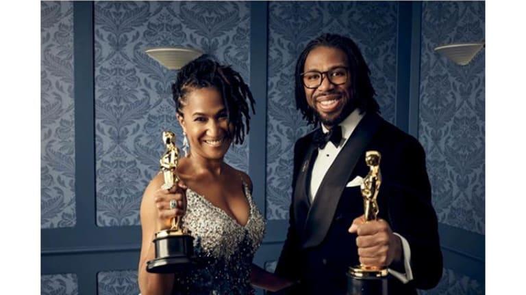 Heard on the Street: Matthew A. Cherry Accepts Oscar for 'Hair Love'