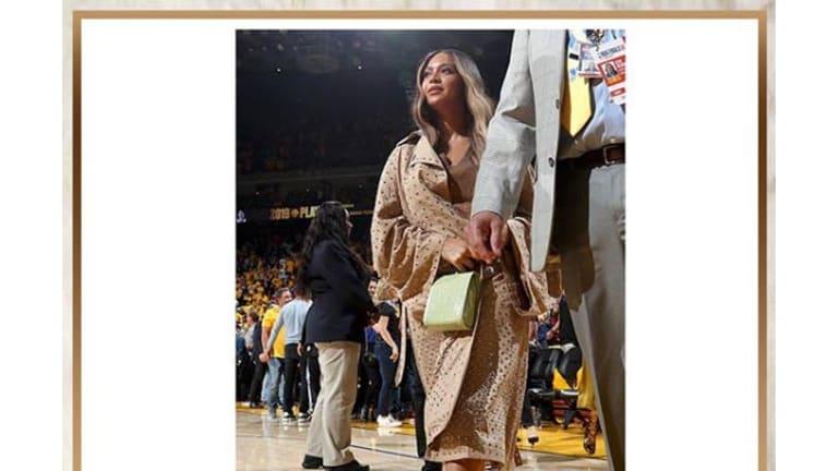 Get the Look: Beyoncé's Salone Monet Nude Sandals
