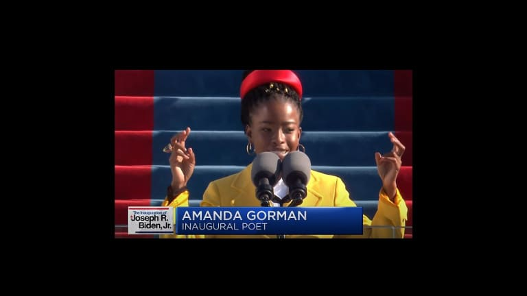 Heard on the Street: Poet Amanda Gorman Delivers Message of America's Resilience