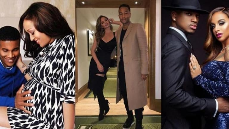 10 Celebrity Couples Expecting a Baby in 2018
