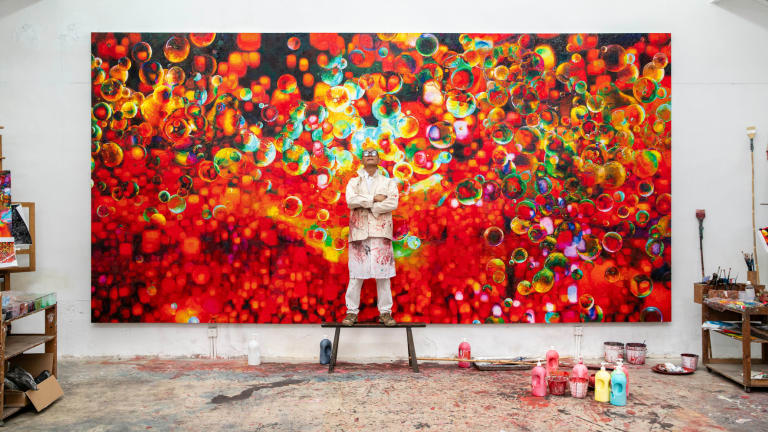 Hennessy Ushers in the Year of the Rat with Zhang Huan Collab & Epic Party