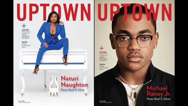 UPTOWN Reveals Fall 2020 Covers Featuring Naturi Naughton & Michael Rainey Jr.