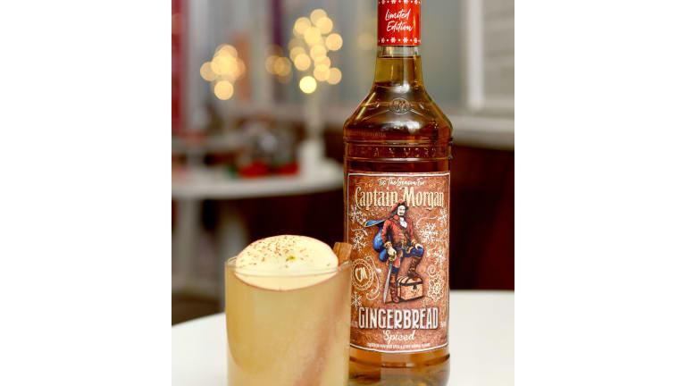 'Tis the Season for Captain Morgan Gingerbread Spice