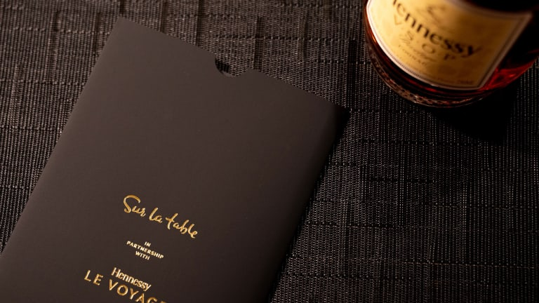 It's Time to Embark on Hennessy's Le Voyage X Sur La Table