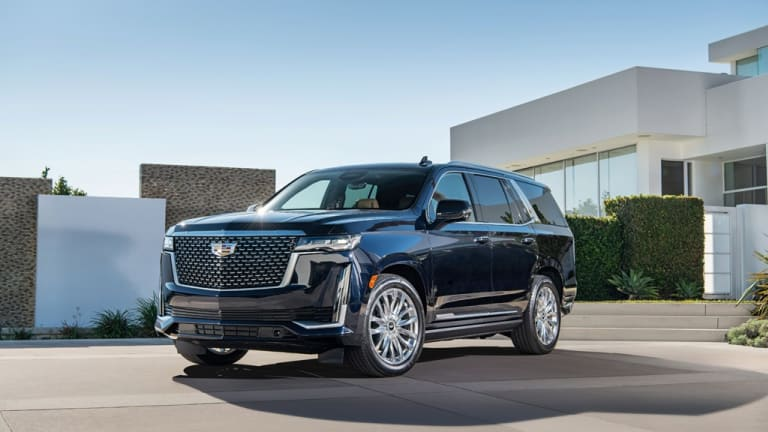 First Look: 2021 Cadillac Escalade