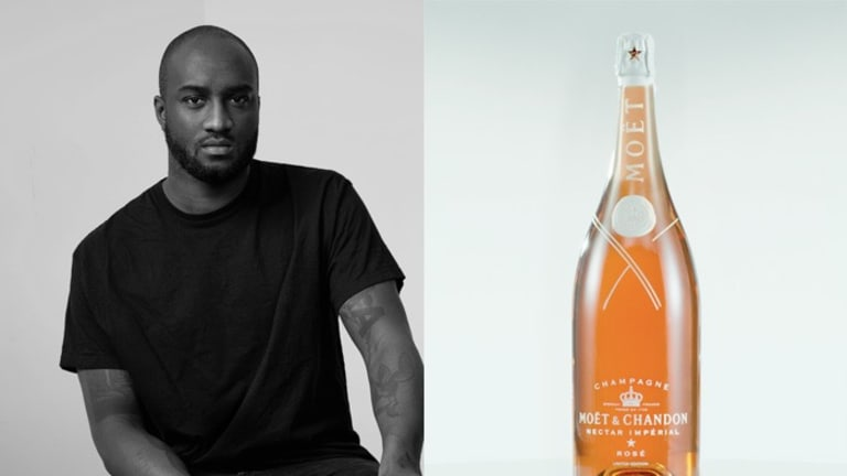 Sip Your Moët & Chandon Rosé Champagne Like Virgil Abloh