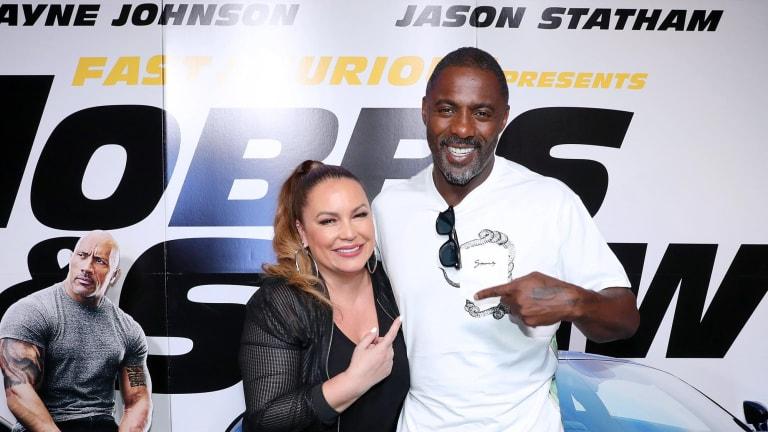 SocietEye: Idris Elba & Angie Martinez Host 'Hobbs & Shaw' Screening in NYC