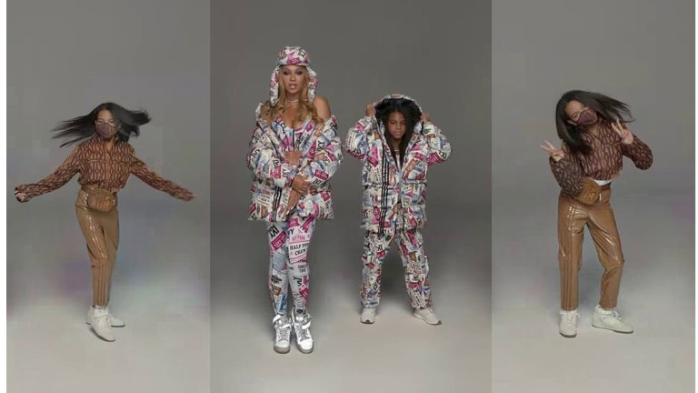 The Best Reactions to Blue Ivy Promoting Mom Beyoncé's 'Icy Park' Adidas x Ivy Park Line