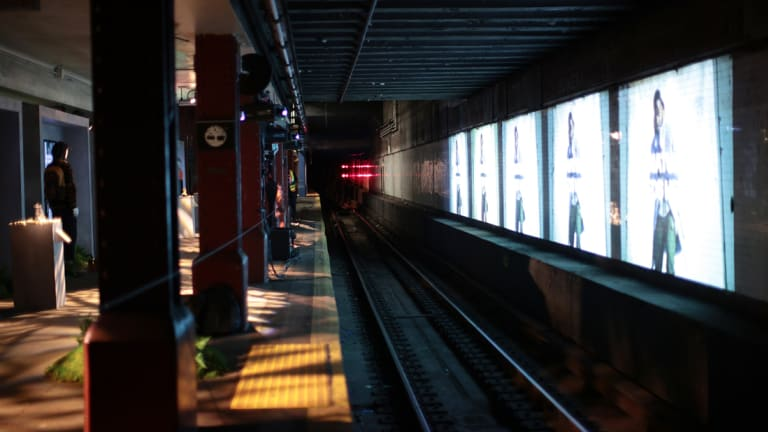 SocietEye: Timberland Launches GreenStride Collection in Decommissioned Subway