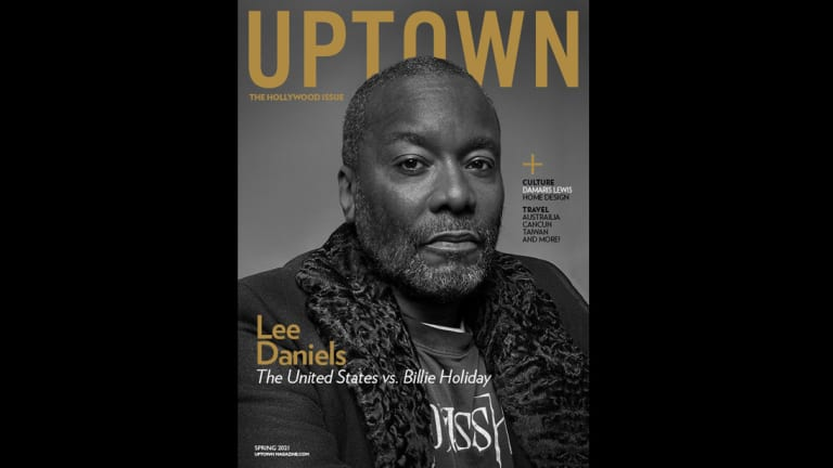 Lee Daniels Covers The Hollywood Issue of 'UPTOWN'