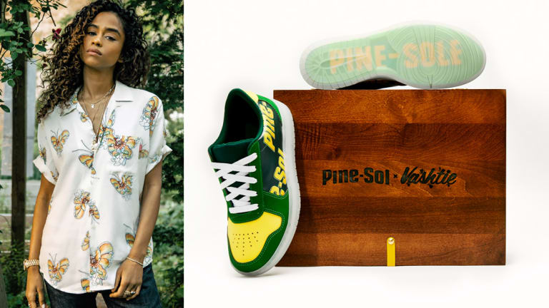 Everything You Need to Know About Vashtie's Pine-Sol Sneaker
