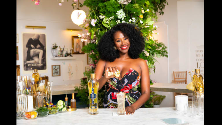 How to Mix Up Earlecia Richelle's Fleuriste St-Germain Cocktails