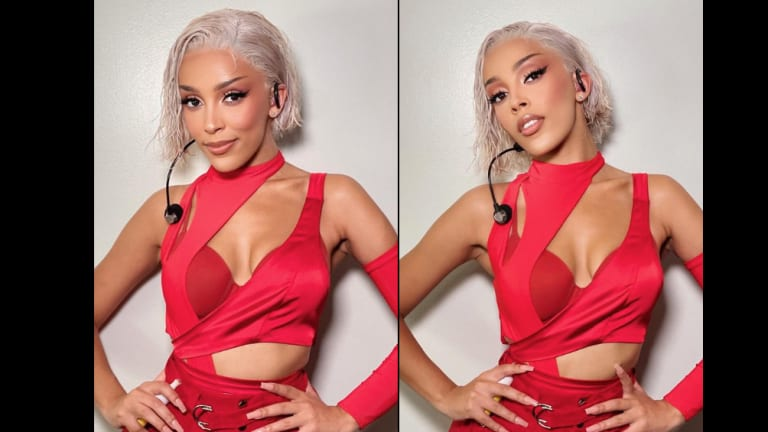 Get the Look: Doja Cat's Drippin' Lashes for the MTV VMAs